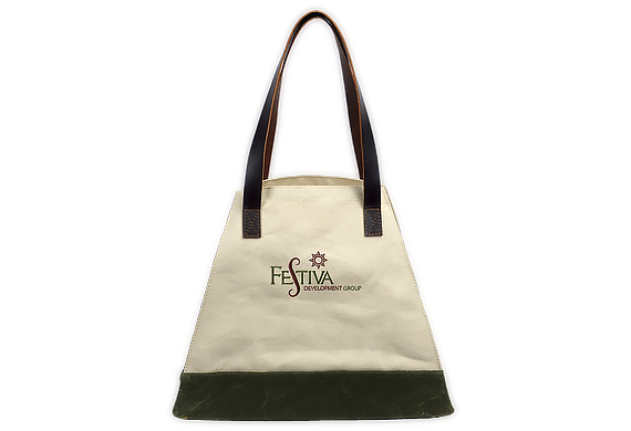 774UWHN Pyramid Tote with Cuff